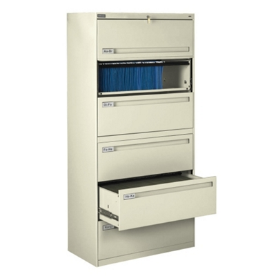 "Spectrum Six Drawer Lateral File - 42""W"