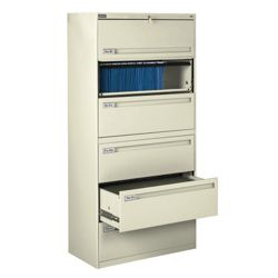 """Spectrum Six Drawer Lateral File - 42""""W"""