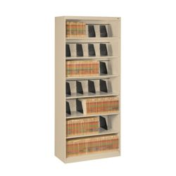 Seven Shelf Open Lateral File Shelving Unit