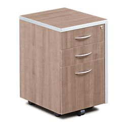 "Compass 16""W  Three Drawer Mobile Pedestal"