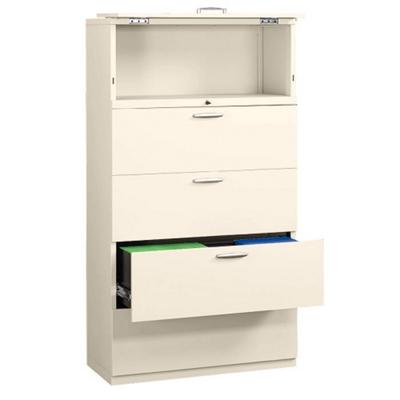"""Five Drawer 36"""" Wide Lateral File"""