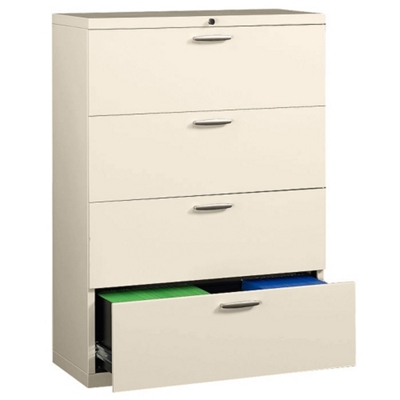 """36"""" Wide Lateral File with Four Drawers"""