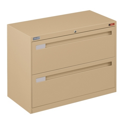 "Spectrum Two Drawer Lateral File with Counterweight - 36""W"