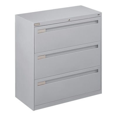 "Spectrum Three Drawer Lateral File - 36""W"
