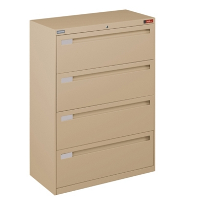 "Spectrum Four Drawer Lateral File - 36""W"