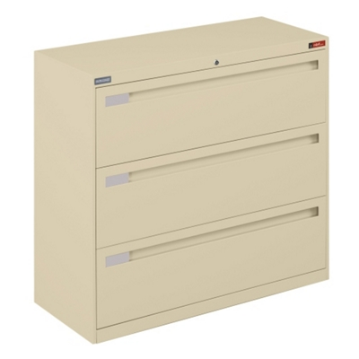 "Spectrum Three Drawer Lateral File - 42""W"