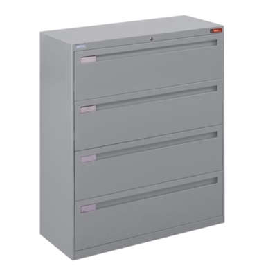 "Spectrum Four Drawer Lateral File - 42""W"