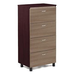 "Ascend Four Drawer Lateral File - 30.75""W"