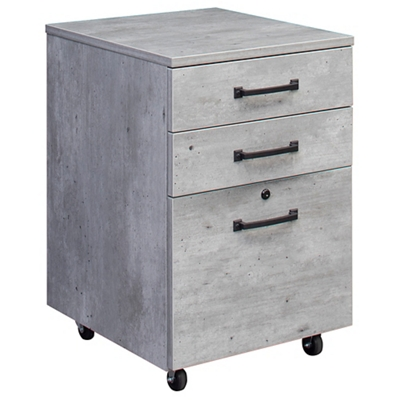 "Urban 18""W Three drawer Mobile File Pedestal"