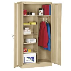 "36""W x 18""D x 72""H Combination Storage Cabinet"