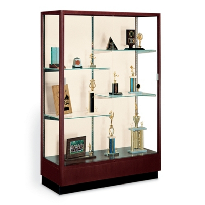 Classic Display Case with Mirror Backing