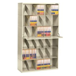 Letter Size Six Tier Add-A-Stack File Unit