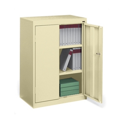 "Three Shelf Storage Cabinet - 42""H"