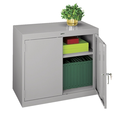 "Desk Height Steel Storage Cabinet- 36""W"