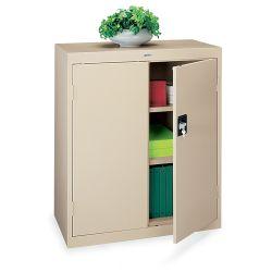 Counter Height Steel Storage Cabinet