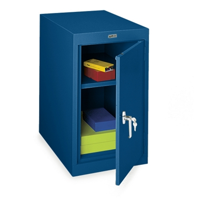Desk Height Single-Door Steel Storage Cabinet