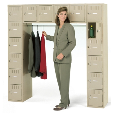 Heavy-Duty 16-Person Box Locker Unit