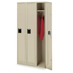 Set of Three Single Tier Lockers