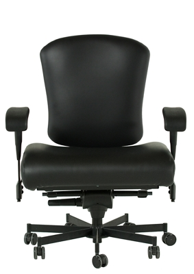 Dauerhaft 24/7 Wide Leather Chair With Flip Arms   57242 And More Lifetime  Guarantee