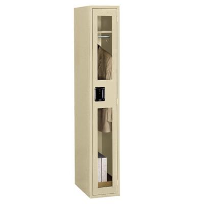Single Tier Locker with See-Thru Doors
