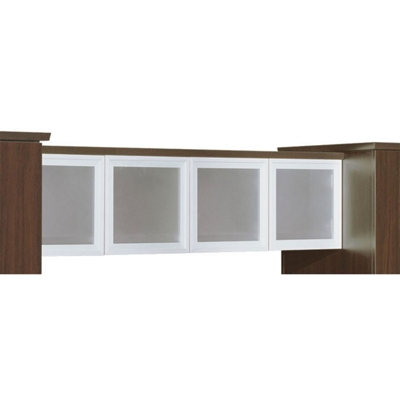 Wall Mounted Overhead Hutch - Fully Assembled