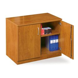 "Compact Double Door Storage Cabinet - 29""H"