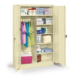 "48""W x 18""D x 78""H Jumbo Combination Storage Cabinet"