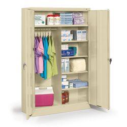 "48""W x 24""D x 78""H Jumbo Combination Storage Cabinet"
