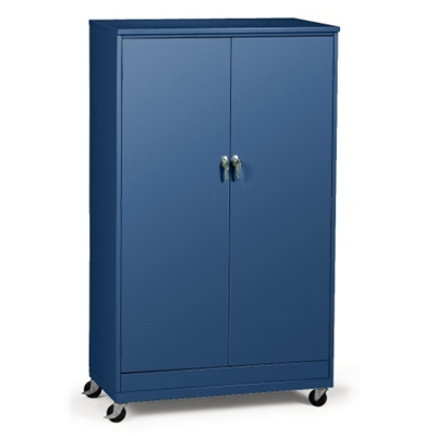 "48""W x 24""D x 85""H Mobile Storage Cabinet"