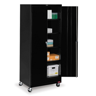 "36""W x 24""D x 85""H Mobile Storage Cabinet"