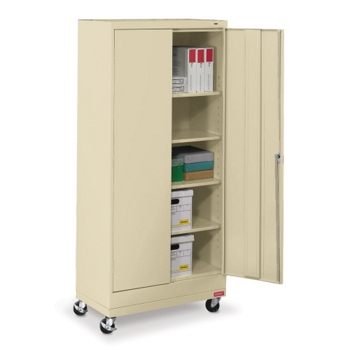 36w X 18d 79h Mobile Storage Cabinet 31736 And More Lifetime Guarantee