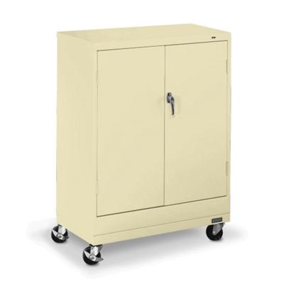 "36""W x 18""D x 49""H Mobile Storage Cabinet"