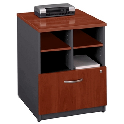 Compact Storage Unit with Lateral File