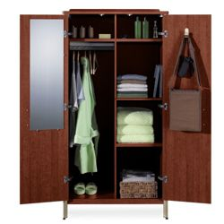 Sonoma Wardrobe Cabinet with 6 Sections