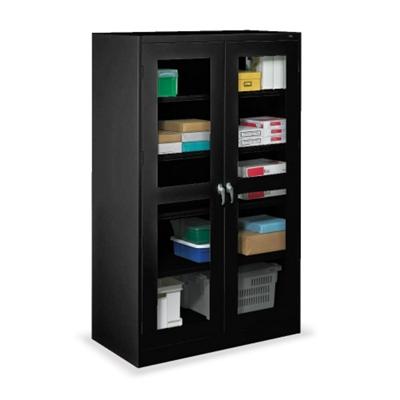 "48""W x 24""D x 78'H Jumbo See-Thru Storage Cabinet"