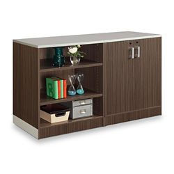 "Esquire 39""H Bookcase and Wardrobe Set"
