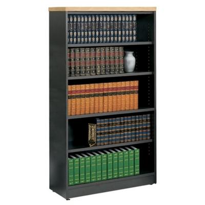 Five Shelf Open Bookcase