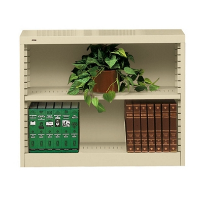 Heavy Duty Steel Bookcase with Two Shelves