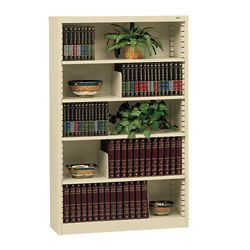 Heavy Duty Steel Bookcase with Five Shelves