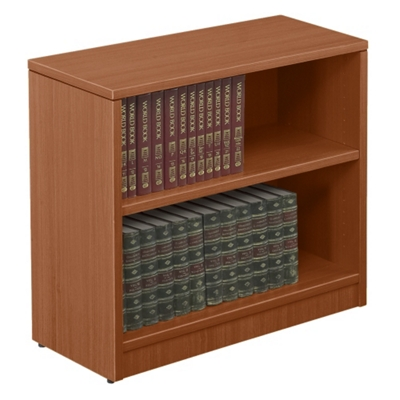 "Contemporary Two Shelf Bookcase - 30""H"