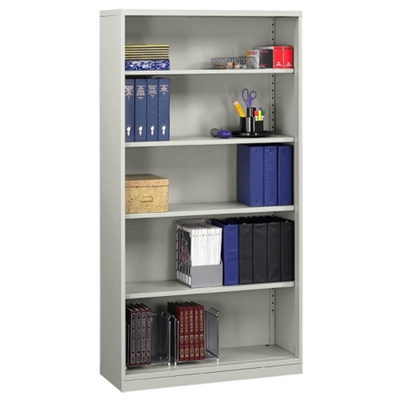 Five Shelf Steel Bookcase