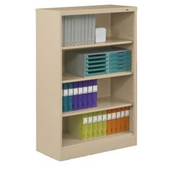 "55""H Four Shelf 18""D Bookcase"