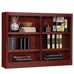 "36"" H Double Bookcase"
