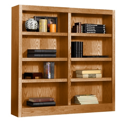 "48"" H Double Bookcase"