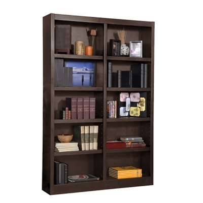 "72"" H Double Bookcase"