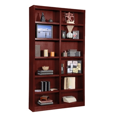 "84"" H Double Bookcase"