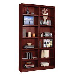 "84"" H Double Bookcase"