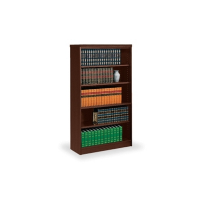 "67""H Five Shelf Bookcase"