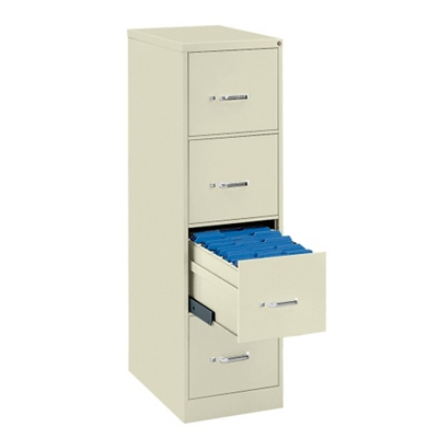 Four Drawer Letter Size Vertical File