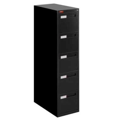 Five Drawer Letter Size Vertical File